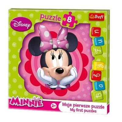 Trefl Puzzle 8 Baby Fun Disney Minnie Bowtique 36117
