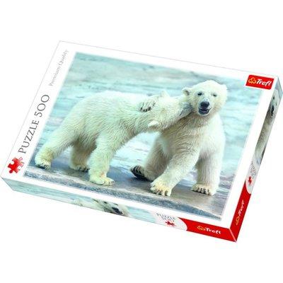 Trefl Puzzle 500 Polar Bears 37270