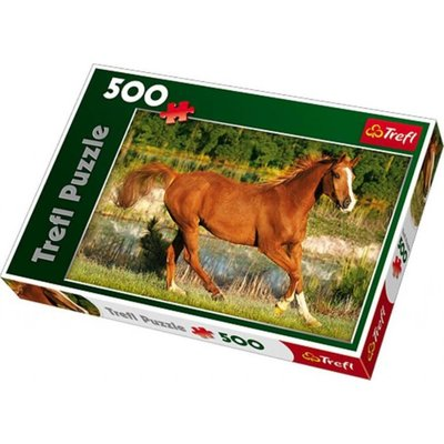 Trefl Puzzle 500 The Beauty Of Gallop 37184