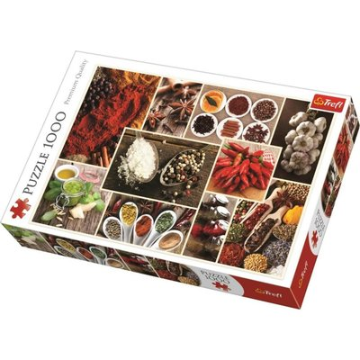 Trefl Puzzle 1000 Spices-Collage 10470