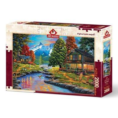Art Puzzle 4575 İki Yaka Bir Orman 2000 Parça Puzzle