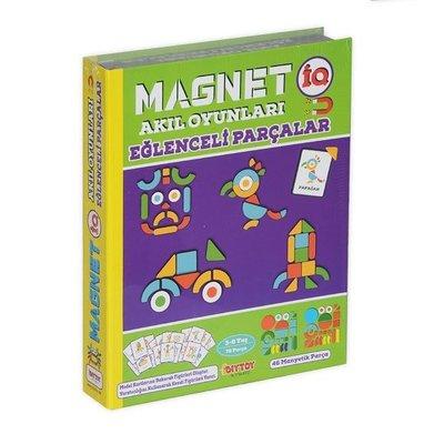 DiyToy-Eğt.Oyn.Magnetiq Eğlenceli Parçalar