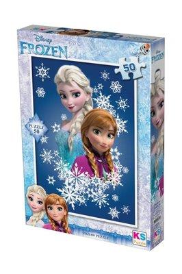 Ks Games Puzzle 50 Parça Frozen 709