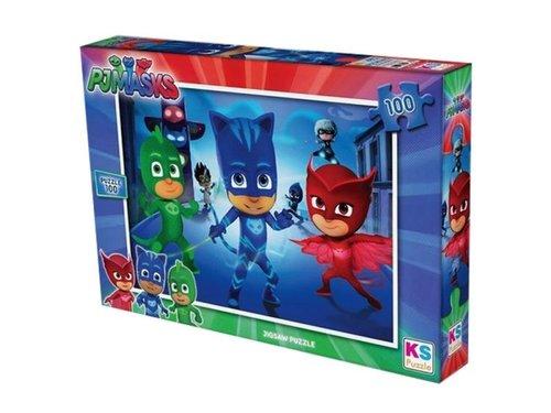 Ks Games-Puzzle 100 Parça  Pj Masks 714