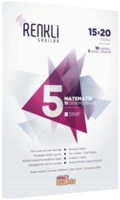 5.Sınıf Matematik 15 Deneme Sınavı-Renkli Sayılar