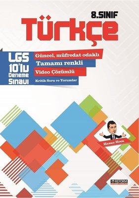 8.Sınıf Türkçe LGS 10'lu Deneme Sınavı