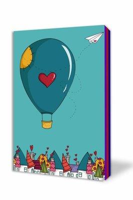 Thinkbook Uçan Balon 11x14 Renkli Defter