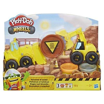PlayDoh Oyun Hamuru Çalışkan Buldozer Ve Kepçe (E4294)