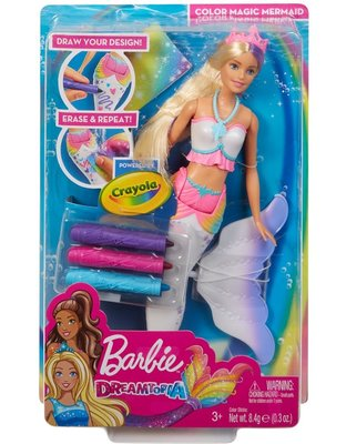 Barbie Sihirli Renkler Deniz Kızı (GCG67)