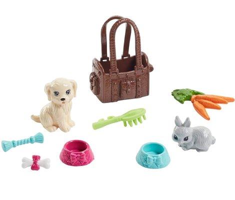 Barbie FPR48 Barbie ve Sevimli Hayvan Arkadaşları Oyuncak Bebek