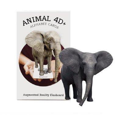 Octagon-Animal 4D+Artırılmış Gerçeklik Kartları