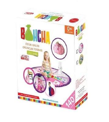 Bluuh Baby Bohcha Oyun Matı ve Oyuncak Torbası - Pembe