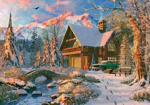 Ks Games 20503 Winter Holiday 1000 Parça Puzzle