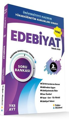 YKS AYT Edebiyat Soru Bankası-Orta İleri Düzey