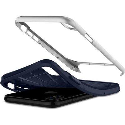 Spigen iPhone X Neo Hybrid Satin Silver Kılıf