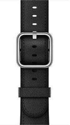 Apple Watch 38 mm Klasik Tokalı Siyah Kayış-M