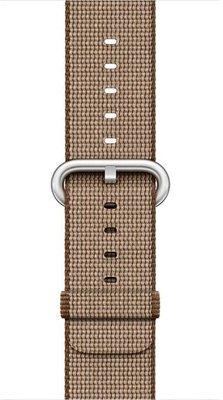 Apple Watch 38 mm Naylon Y. Kahve/Karamel Kayış