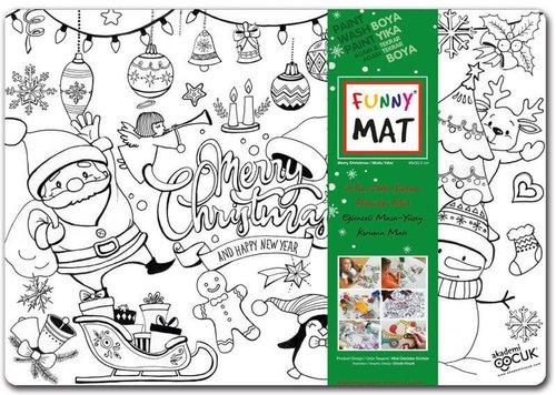 Akademi Çocuk Funny Mat - Yeni Yıl