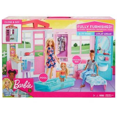 Barbie-Taşınabilir Portatif Evi (FXG54)
