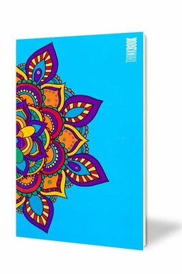 Thinkbook Hayatın Renkleri Büyük Mavi Mandala 11x18 Defter
