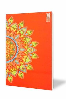 Thinkbook Hayatın Renkleri Büyük Kırmızı Mandala 11x18 Defter