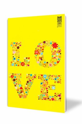 Thinkbook Hayatın Renkleri Büyük Sarı Sevgi 11x18 Defter