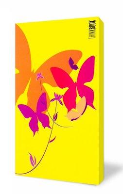 Thinkbook Hayatın Renkleri Büyük Sarı Kelebekler11x18 Defter