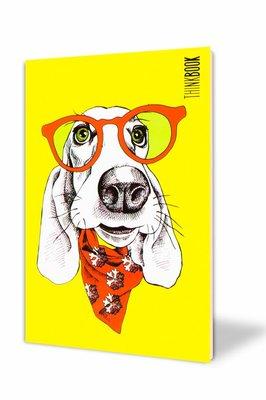 Thinkbook Hayatın Renkleri Küçük Sarı Gözlüklü 10x14 Defter