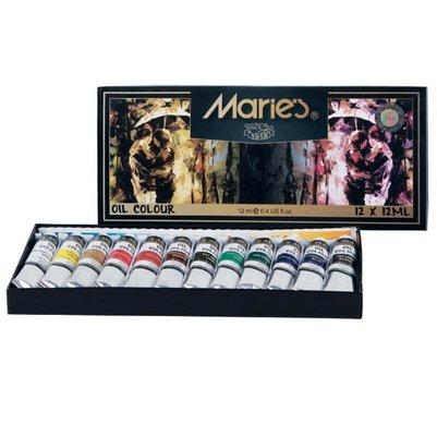 Maries Mr-Mar0001 Yağlı Boya - 12'li E1381