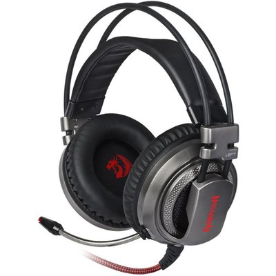Redragon Berserk Pro 7.1 Oyuncu Kulaklık siyah+kırmızı 2 m kablo