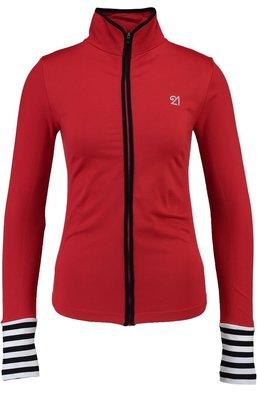 Fit21 Sweatshirt Kırmızı Siyah Şerit WSW1S05