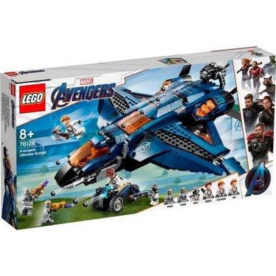 Lego Marvel Avengers Muhteşem Quinjet 76126