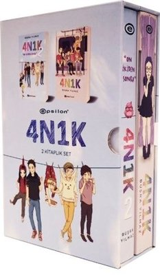 4N1K-2 Kitap Takım