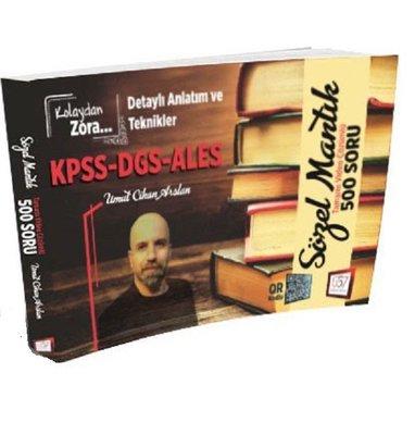 KPSS-DGS-ALES Kolaydan Zora Sözel Mantık Tamamı Video Çözümlü 500 Soru