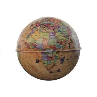 Gürbüz Globe Bank Antik Küre Kumbara 10 Cm.