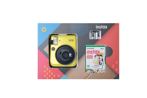 Fujifilm Instax Mini 70 Box Sarı