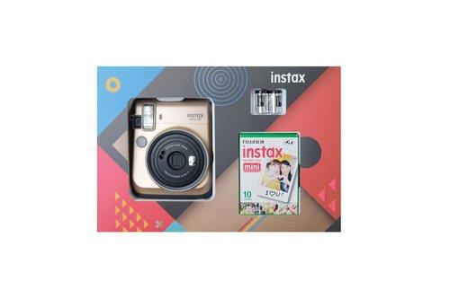 Instax Mini 70 Box Gold