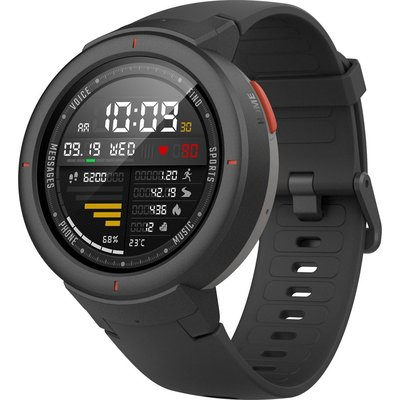 Xiaomi Amazfit Verge Bluetooth Nabız Ölçer GPS Akıllı Saat Siyah