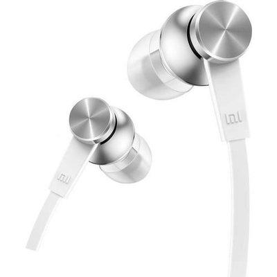 Xiaomi Piston Basic Edition Yassı Kablo Mikrofonlu Kulakiçi Kulaklık Beyaz