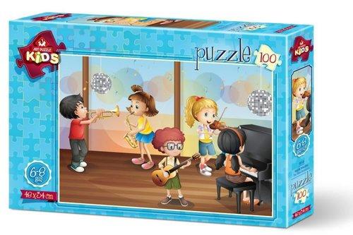 Art Kids-Puz.100 Küçük Orkestra 34x48cm 4510