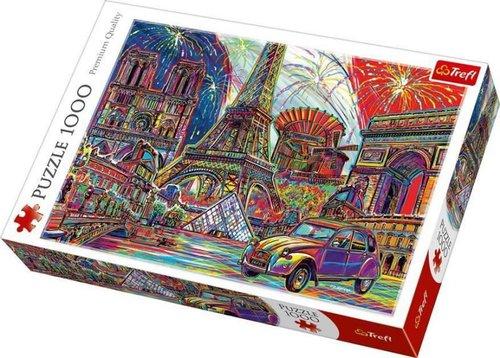 Trefl-Puz.1000 Colours of Paris 68x48cm 10524