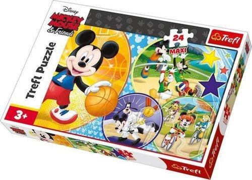 TreflÇocuk-Puz. TimeforPlayingSports!/DisneyStandartCharacters 14291 60x40cm