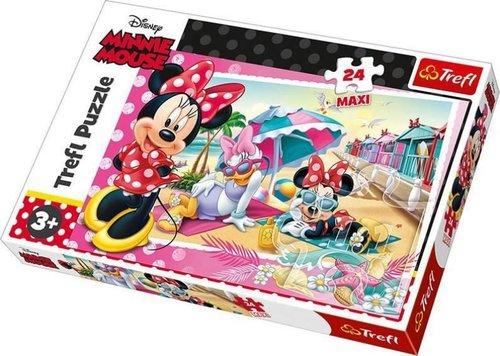 TreflÇocuk-Puz. Minnie'sHoliday/DisneyMinnie 14292 60x40cm