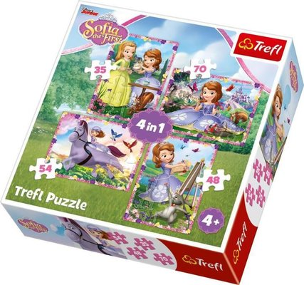 TreflÇocuk-Puz. Sofia'sWorld/DisneySofiaTheFirst 34314 28x20cm