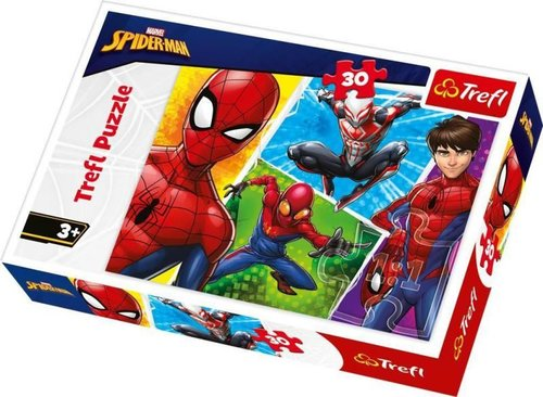 TreflÇocuk-Puz. SpidermanandMiguel/DisneyMarvelSpiderman 18242 27x20cm