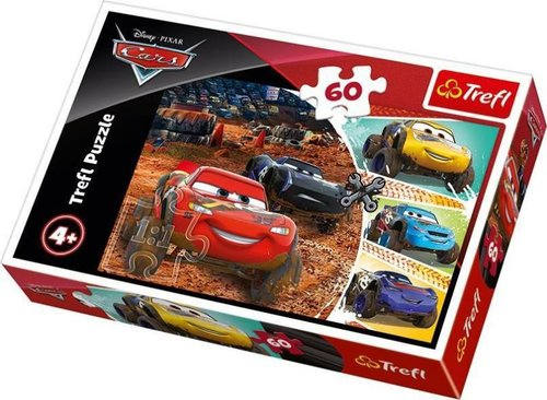 TreflÇocuk-Puz. LightningMcQueenwithFriends/DisneyCars3 17327 33x22cm