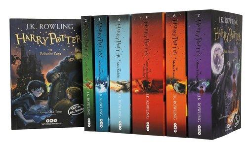 Harry Potter Özel Kutulu Set-7 Kitap Takım