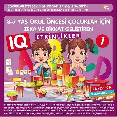 3-7 Yaş Okul Öncesi Çocuklar için Zeka ve Dikkat Geliştiren Etkinlikler-1