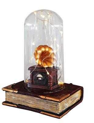 Giftpoint-Kitap + Gramafon Led Dekoratif GP-1865