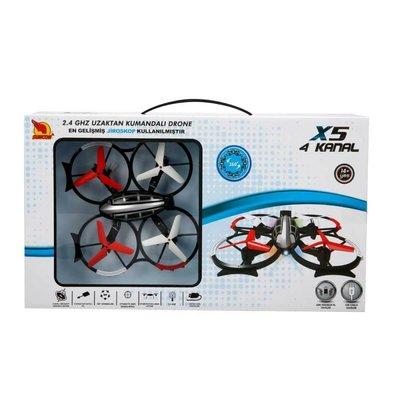 Rastar-R/C Drone 4Kanal 16cm2.4Ghz Usb Şarjlı